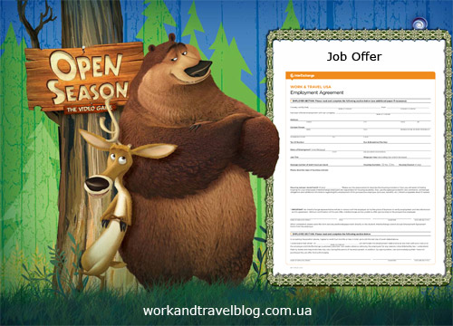 Work and Travel Сезон охоты на Job Offerы
